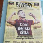 Прощальный матч итальянского футболиста Франческо Тотти