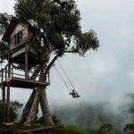 Качели Каса-дель-Арбол в Эквадоре: как пощекотать себе нервы на краю света
