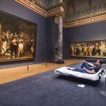 10-миллионный посетитель выставки переночевал в музее Рейксмюсеум в Амстердаме