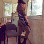 Ким Меллибовски — очаровательный солдат Израиля