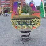 Патриотическая детская площадка в Петрозаводске