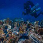 Найдены останки восьми древнегреческих кораблей в Эгейском море