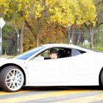 Джастин Бибер снова на колесах