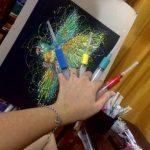 Медсестра рисует оригинальные картины шприцами и это талантливо!