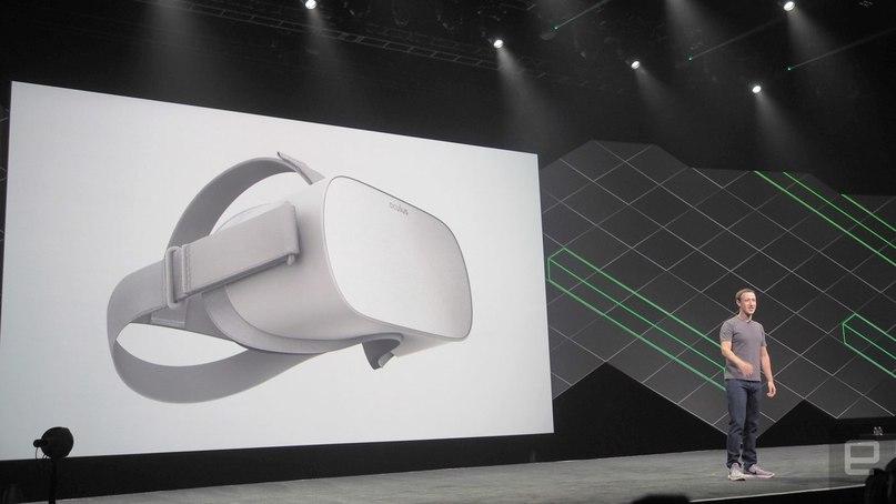 Цукерберг представил миру самостоятельные очки виртуальной реальности