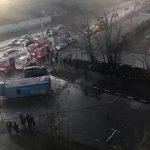 На юго-западе Москвы произошло ДТП