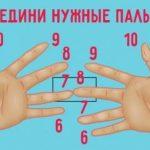 Пронумеруйте пальцы от 6 до 10 и соедините нужные номера. Это поражает!