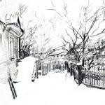 Михаил Врубель: рисунки и наброски
