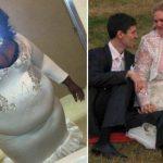 16+ самых чудовищных свадебных платьев невест, которые немного перестарались