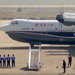Китайцы создали уникальный самолет-амфибию