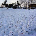 20 примеров того, что еще, кроме снеговика, можно слепить из снега