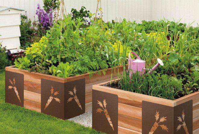 Красивые деревянные ящики