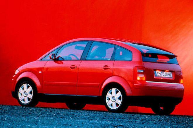 Компактный минивэн Audi A2