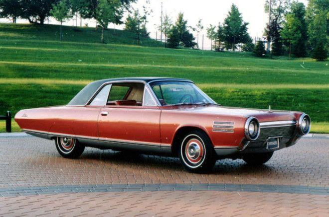 Автомобиль Chrysler с газотурбинным двигателем