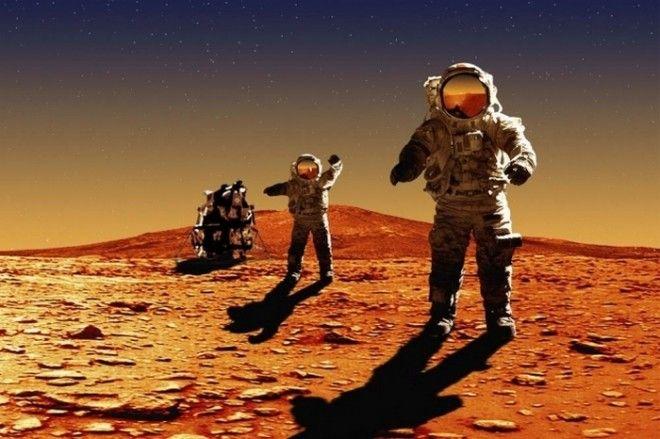 Стать первопроходцем на Марсе