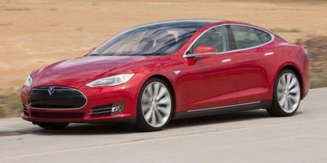 Tesla Model S революционный автомобиль от Илона Маска Фото masbukticom