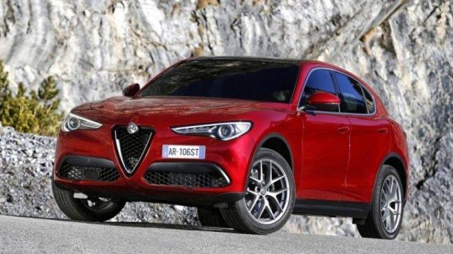 Итальянский кроссовер Alfa Romeo Stelvio красивый но совсем не надежный автомобиль Фото razaoautomovelcom