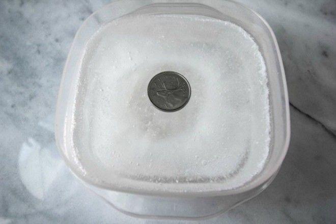 Монета в морозилке проверенный способ