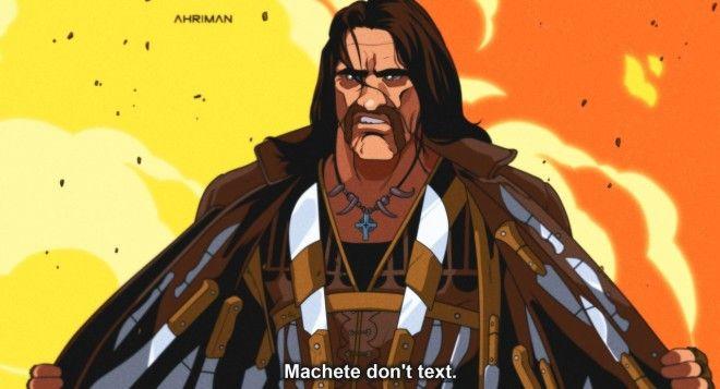 Hello Galochka как выглядят герои советских фильмов в англоязычном аниме