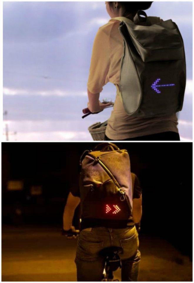 Рюкзак передающий сигналы