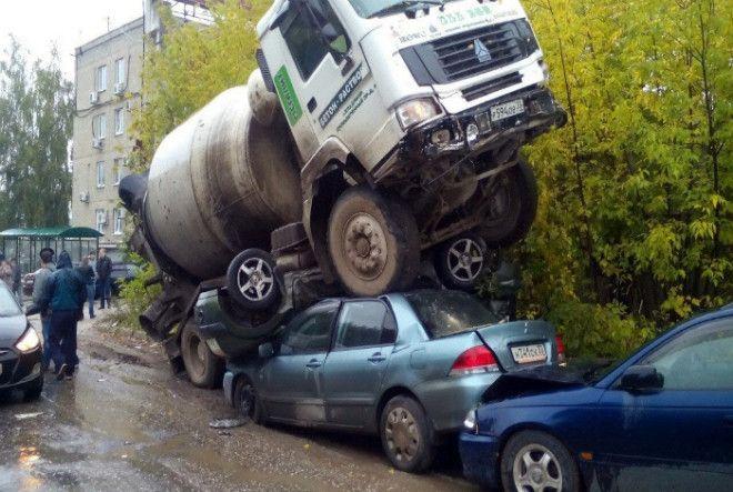 Неудачно припарковался