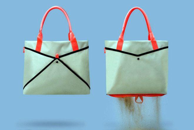 Умная пляжная сумка