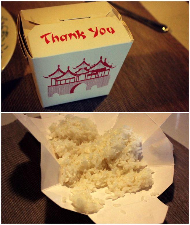 Хитрая особенность коробочки с китайской едой