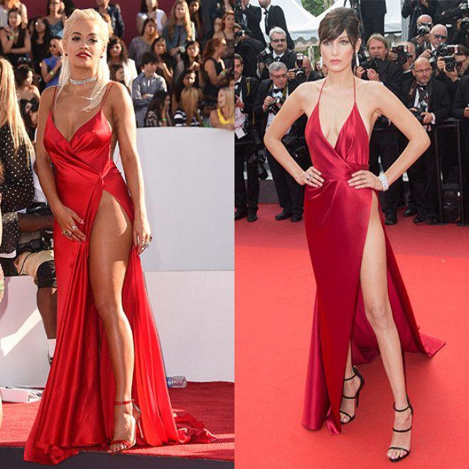Sа ком лучше смотрятся платья на аппетитных звездах или стройняшках