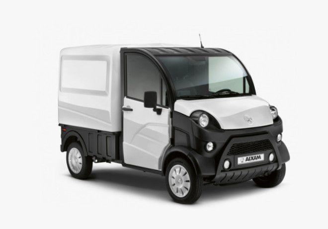 Можно водить и грузовик Aixam DTruck