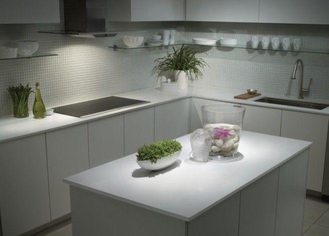 Кухня в стиле минимализм прекрасное решение для маленького помещения