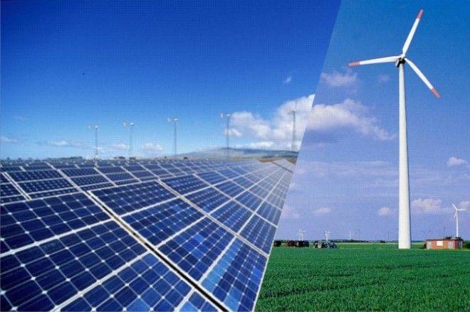 Солнце и ветер на службе энергетики