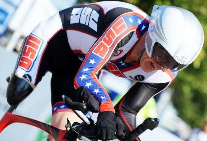 Тодд Ки - профессиональный велогонщик без руки и ноги